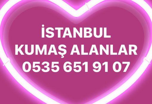 İstanbul kumaş alanlar